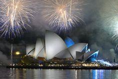 Visit The Sydney Opera House - Australia. Beautiful Islands, Beautiful Places, Beautiful Sites, Ayers Rock Australia, New Zealand Cruises, Happy 40th Birthday, Happy 50th, Happy New Year 2019, Australia Travel