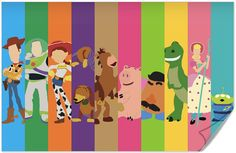 Disney Pixar Toy Story Poster from on Etsy. Shop more products from on Etsy on Wanelo. Disney Pixar, Disney Toys, Disney Animation, Disney Art, Toy Story 3, Toy Story Party, Cumple Toy Story, Festa Toy Story, Pixar Movies
