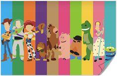 Children's Spaces | Patterns for Babies | Art Print | Illustration | Poster | Decoração Infantil | Padronagem para Bebês | Wallpaper | Ilustração para Impressão   #Kids #Ilustración #doodle Disney Pixar Toy Story Poster
