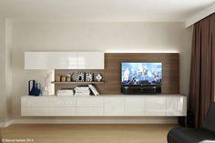 Living Room Wall Units, Ikea Living Room, Living Room Furniture, Living Room Designs, Modern Tv Wall Units, Home Interior Design, Home And Living, Furniture Design, Furniture Ideas