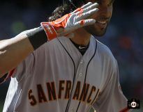 #SFGiants Angel PaGONE! for the WIN (4/3/14) versus the Dbacks