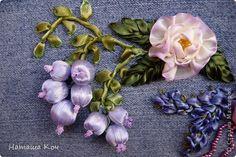 Мастер-класс Вышивка Как по-быстрому сделать бусину для вышивки ягоды или колокольчика Ленты Фольга фото 9