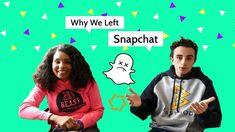 Why we left Snapchat!      #snapchat #socialstand #values #business #team #platform