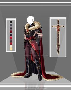 DeviantArt: More Collections Like Com: Design outfit 6 by LaminaNati Inspiration Drawing, Character Design Inspiration, King Outfit, Armor Clothing, Illustration Mode, Anime Dress, Fantasy Dress, Drawing Clothes, Fashion Art