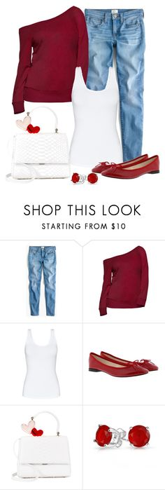 """Untitled #1389"" by gallant81 ❤ liked on Polyvore featuring J.Crew, Talula, Repetto and Bling Jewelry"