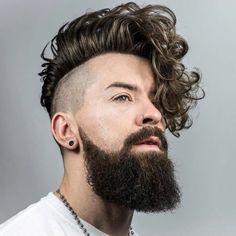 quelles sont les tendances chez les coupes de cheveux bouclés homme 2017