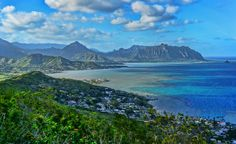 Pu'u Ma'eli'eli Vista by Warren Ishii  If you're on the Windward side of Oahu and looking to do a short hike with an amazing view at the end then consider doing Puu Ma'eli'eli in Kahalu'u