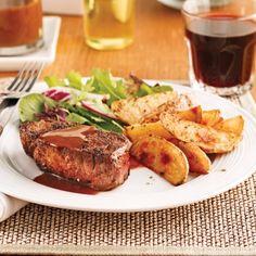 Filets mignons, sauce au vin rouge - Recettes - Cuisine et nutrition - Pratico Pratiques
