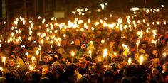 Encienden miles de velas contra atentados en #Copenhague.  #Internacionales #noticias #news