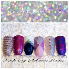 CND Shellac Nail Art - Nails by Rebecca Louise