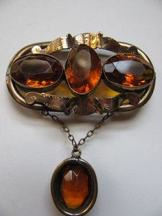 Original Large Victorian Pendant Brooch by victoriansentiments, $140.00