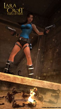 Lara croft and the temple of Osiris by doppeL-zgz