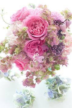 Japanese florist I'llony's bouquet .