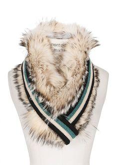 4 необычных меховых шарфов