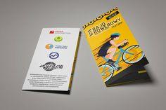 #Ulotka - jedna z materiałów promujących II #Rajd #Rowerowy Doliny Strugu Cover, Books, Design, Libros, Book, Book Illustrations, Libri