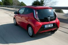 Toyota Aygo rear driving