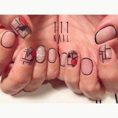 ▪️▫️◽️◾️▪️ #nail#art#nailart#ネイル#ネイルアート #ステンドグラス#クリアネイル#マットネイル#手書きアート#ilustration#paint#ショートネイル#nailsalon#ネイルサロン#表参道#手書きアート111