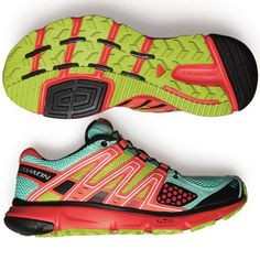 SHAPE's Shoe Awards 2012-Salomon running shoes...love the colors, don't run but they would be great for running errands.