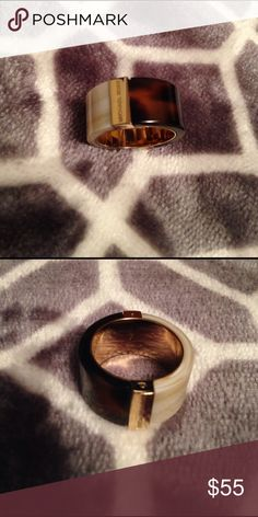 MK color block ring NWT.  Size stamped inside ring...see 2nd photo Michael Kors Jewelry Rings