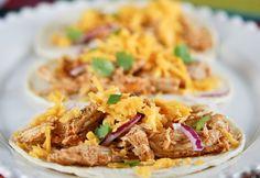 Cafe Rio Crock Pot Chicken Tacos