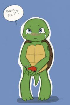 Babeh mutant turtle by Suzukiwee1357.deviantart.com on @deviantART