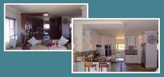 Existing melamine kitchen transformed with white paint. Fresh and new! Paint Effects, White Paints, Own Home, Fresh, Kitchen, Projects, Painting, Log Projects, Cooking