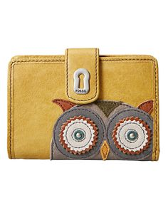 Fossil Owl Wallet. What more could a girl ask for ;)