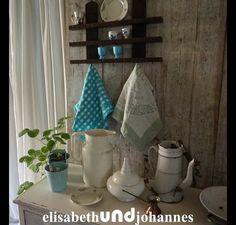 Vintage Schränke - Uralt! vintage Regal Frankreich Holz floral - ein Designerstück von elisabethUNDjohannes bei DaWanda