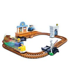 Paw Patrol, Adventure Bay Railway Track Set with Exclusive Vehicle, by Spin Master All Toys, Toys R Us, Paw Patrol Gifts, Train Car, Kids Store, New Adventures, Legos, Track, Vehicles