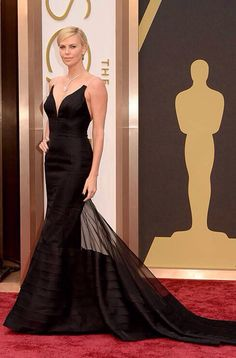 Charlize Theron in Dior | Oscars 2014