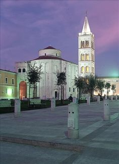 12th century cathedral in Zadar, Croatia.