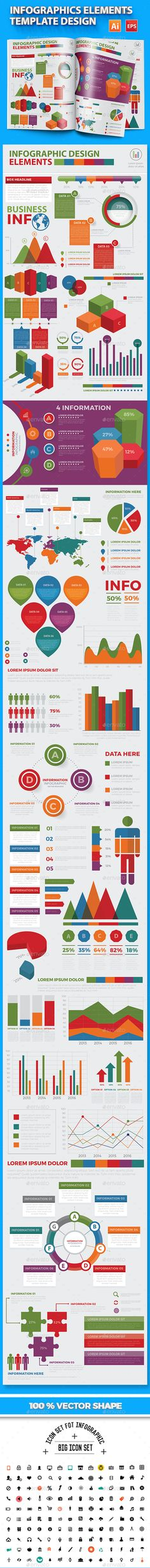Modern Infographic elements design - Infographics Download here : https://graphicriver.net/item/modern-infographic-elements-design/17733565?s_rank=557&ref=Al-fatih
