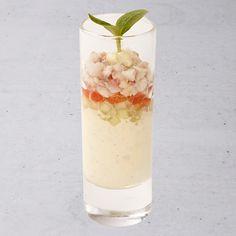 Mousse van paling met komkommer tomaat en gerookte paling - Hanos.nl !