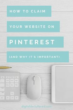 It's important to claim your website on Pinterest if you want to optimize your profile and drive more traffic to your blog or website. Find out why it can make or break your Pinterest strategy and follow the step by step instructions | Pinterest | Pinterest Business | Pinterest Marketing | Blogging | Website Traffic | Blog Traffic | #pinterest #pinteresttips #blogging #blogtraffic #startblogging #pinterestmarketing