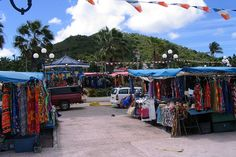 Marigot Market Wednesday and Saturday mornings