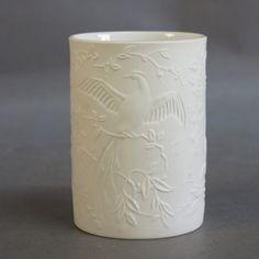 Vintage porcelain vase. Kaiser Germany 1950 - 1955.