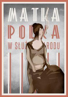 Oryginalny plakat autorstwa Marka Sienkiewicza zainspirowany plakatami polskimi z okresu PRL. Illustrations And Posters, Home Art, Movie Posters, Character, Etsy, Illustrations Posters, Film Poster, Billboard, Lettering