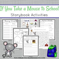 Hygiene Activity Worksheets Pdf If You Take A Mouse To School Cut  Paste Cause  Effect  Symmetrical Worksheets Excel with Absolute Location Worksheet Excel After Reading If You Take A Mouse To School With Your Students Try Out Some Yr 1 Maths Worksheets Word