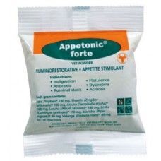 Appetonic forte Vet is an aninal #health product, restores distirbed ruminal motility and corrects ruminal dydfunctions. Also normalizes ruminal pH.