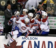 Carey Price outplayed Tuukka Rask to lead the Canadiens to a win over the Boston Bruins in the deciding Hockey Stanley Cup, Stanley Cup Playoffs, Football And Basketball, Hockey Mom, Montreal Canadiens, Max Pacioretty, Eastern Conference Finals, American Sports, New York Rangers