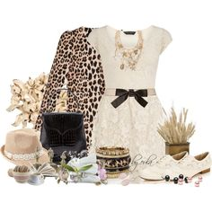 """""""Leopard and Lace Contest"""" by eula-eldridge-tolliver on Polyvore"""