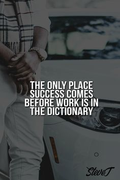 The only place success comes before work is in the dictionary. Number Games, Affiliate Marketing, Read More, Quotes To Live By, Digital Marketing, Motivational Quotes, Success, Writing, Sayings