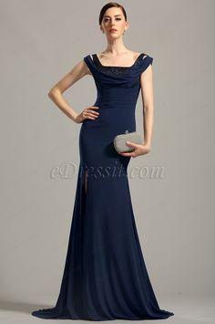 eDressit Navy Blue Evening Dress  #edressit #gown #evening_dress #fashion