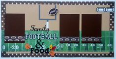 Fall brings cooler days and family time. This layout is perfect for photos from family football outings, family football games, or the Thanksgiving holiday when everyone is hanging out, eating and watching football on tv. Cute layout to showcase pictures from a tailgate party, or a Saturday afternoon football get together at home. This is a two page premade scrapbook layout page. Each page measures 12x12. There are three mats which will hold 4x6 photos. Thanks for looking! You might enjoy…