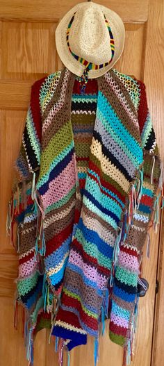 A personal favorite from my Etsy shop https://www.etsy.com/listing/462986138/crochet-shawl-wrap-free-style-bohemian