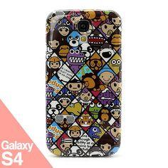 Cartoon Galaxy S4 -  Funda Samsung Galaxy S4 - La Tienda de Doctor Manzana