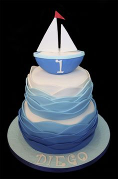 Marlin birthday cake Adult Novelty Cakes Birthday Cakes