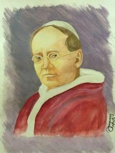 Originals...  Pope Pius XI Pope Pius Xi, The Originals, Painting, Design, Art, Art Background, Painting Art, Kunst