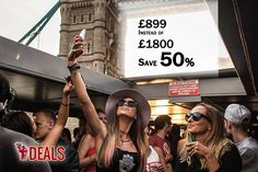 FROM £899 INSTEAD OF £1800 FOR A PRIVATE BOAT PARTY WITH DJ AND COCKTAIL FOR UP TO 150 PEOPLE ON THE RIVER THAMES, OR PAY JUST £219 DEPOSIT TODAY - #SAVE UP TO 50% http://www.grabdeals.today/uk-en/deal_detail/11565