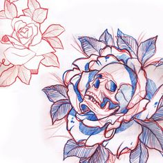 Skull rose probably would t get it but it looks BA!